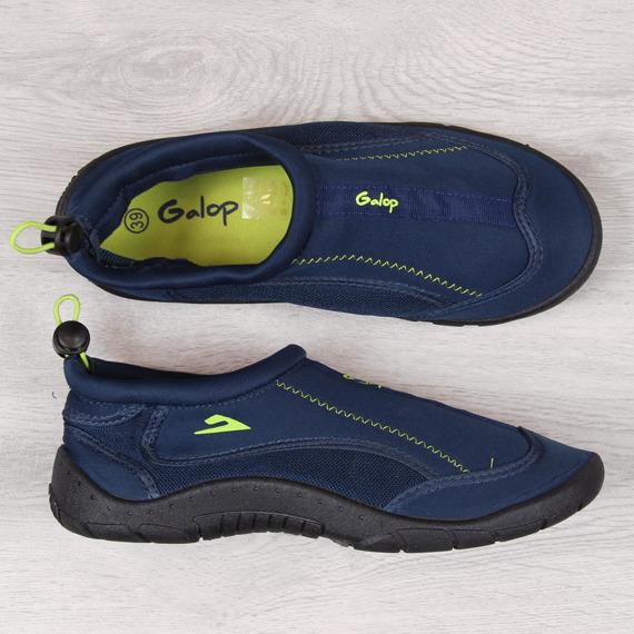 Buty do wody na gumkę granatowe Galop