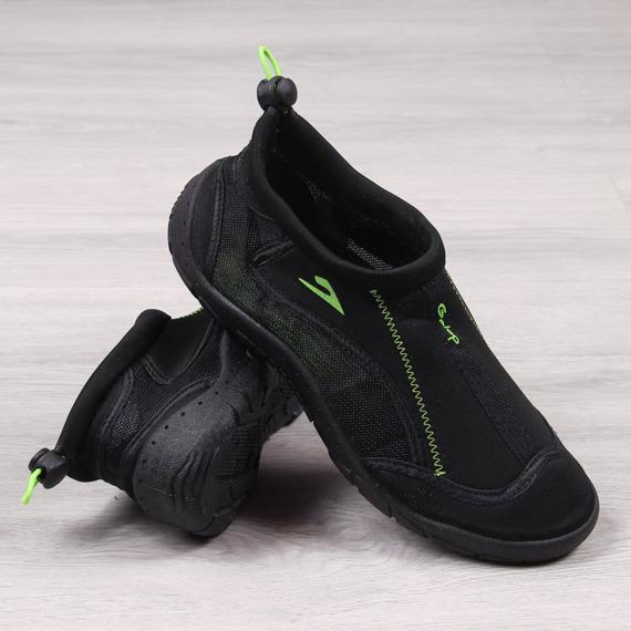 Buty męskie do wody na gumkę czarne Galop