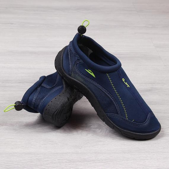 Buty męskie do wody na gumkę granatowe Galop