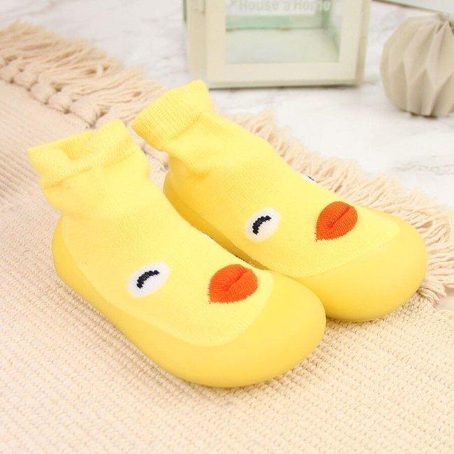 Buty niemowlęce niechodki żółte Befado