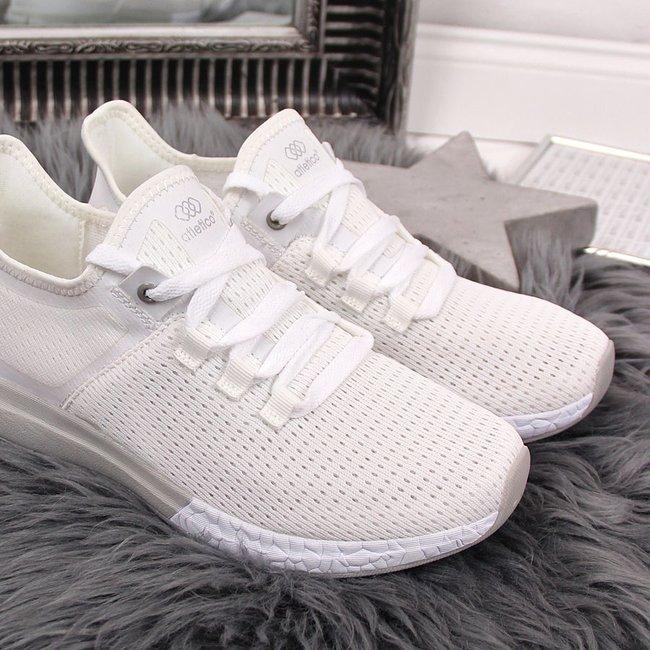 Buty sportowe damskie białe Atletico