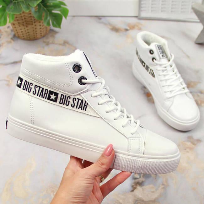 Buty sportowe damskie białe Big Star EE274356
