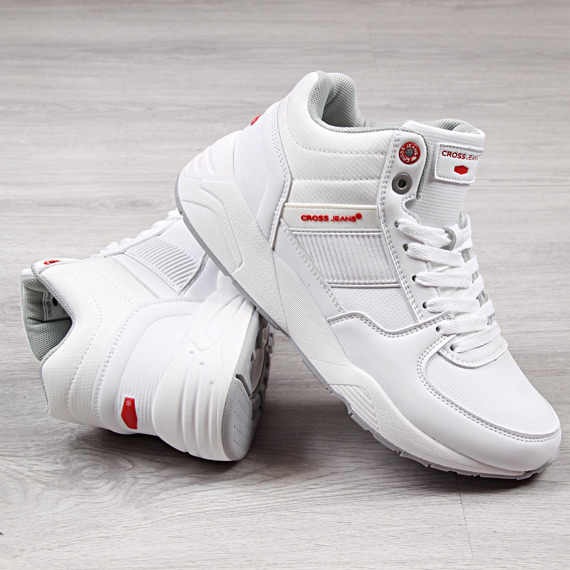 Buty sportowe męskie białe Cross Jeans