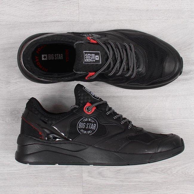 Buty sportowe męskie czarne Big Star HH174105