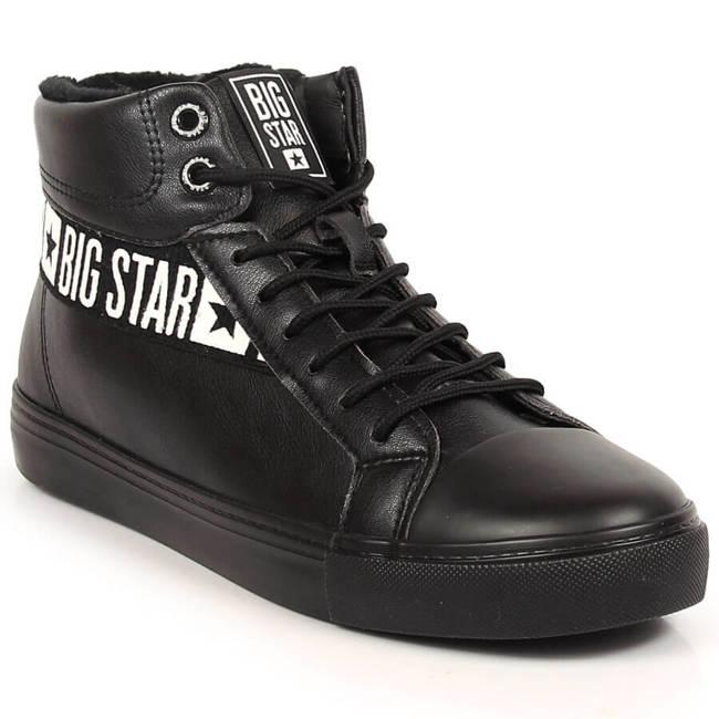 Buty sportowe męskie trampki czarne Big Star EE174339