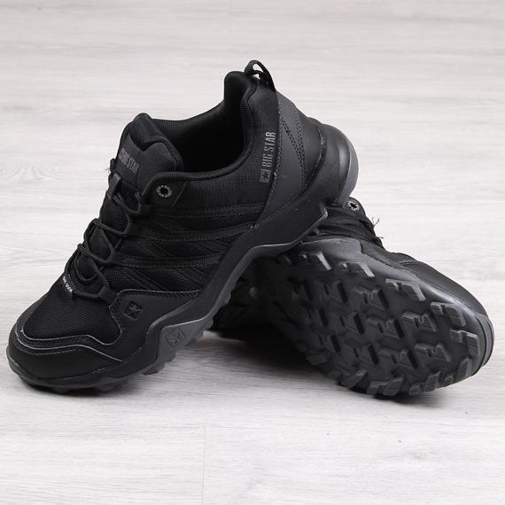 Buty trekkingowe męskie czarne Big Star EE174456