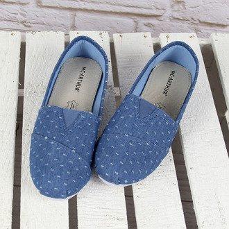Niebieskie tenisówki jeansowe tomsy McArthur