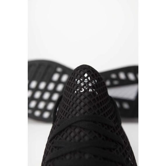Sneakersy męskie czarne Adidas Deerupt Runner BD7890