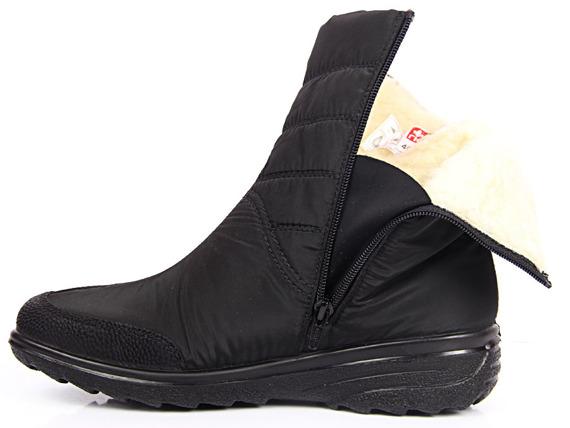 Śniegowce damskie wodoodporne czarne Rieker Z7082-00
