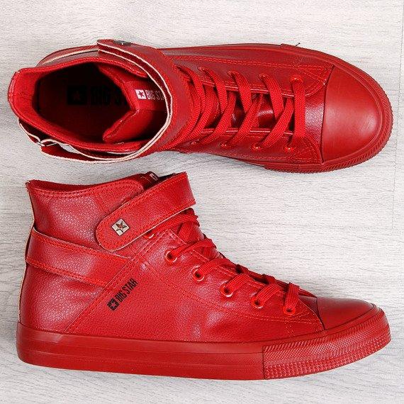 Trampki męskie czerwone Big Star Y174025