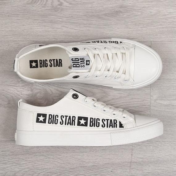 Trampki męskie niskie białe Big Star EE174070