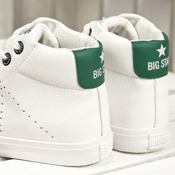 Trampki wysokie białe Big Star AA274003