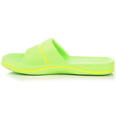 Zielone klapki dziecięce gumowe basenowe Hasby