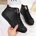 Trampki za kostkę czarne Cross Jeans II2R4032C